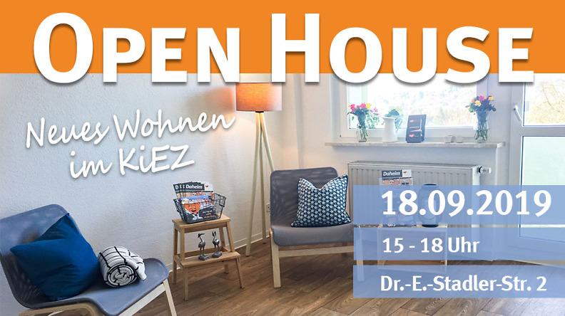 Open House: Wohnungsschau im Chrieschwitzer Hang