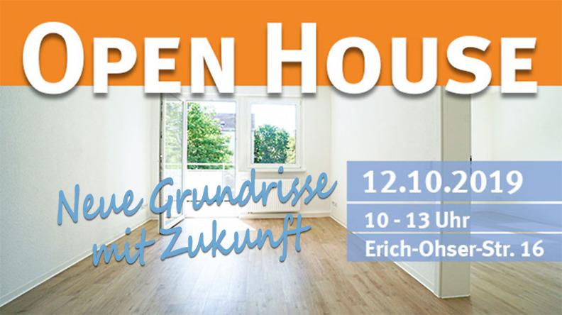 open house- Wohnugsschau Erich-Ohser-Straße 16 in Plauen